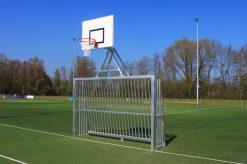 Antivandalen doel met basket