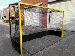 Hockeydoel vrije netophanging, voorkantmet RAL-min