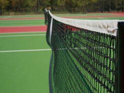 Tennisnet zwart