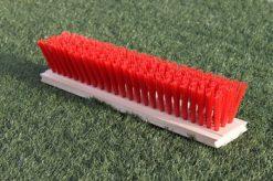 Blokbezem 50cm kunststof rood