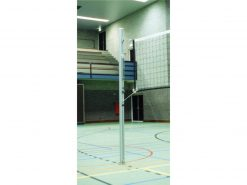 Volleybalpaal insteek incl. windwerk